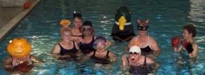 halloween at pool