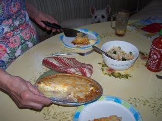 eat quiche